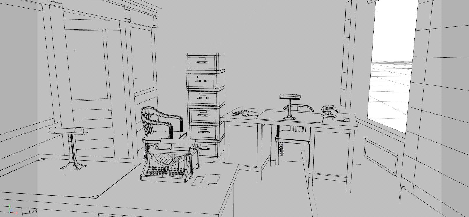 Büromodell
