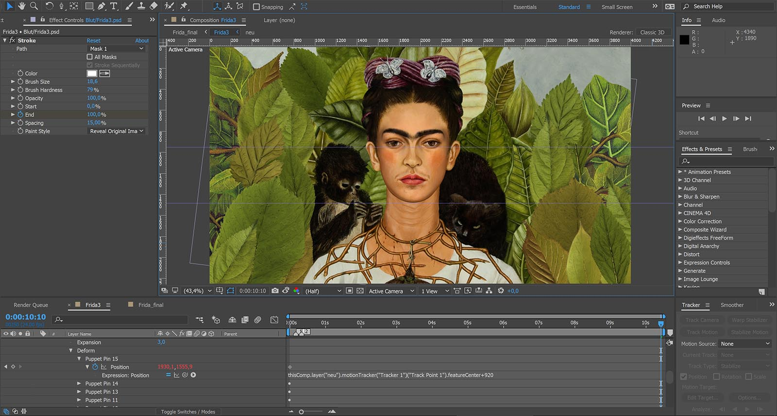 Compositing in After Effects